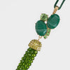 Tassel hanging ornament, green