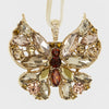 Butterfly hanging ornaments, neutral