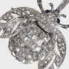Sparkle bee hanging ornament, crystal