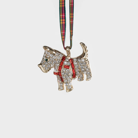 Tassel hanging ornament, ruby