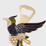 Bird bottle opener
