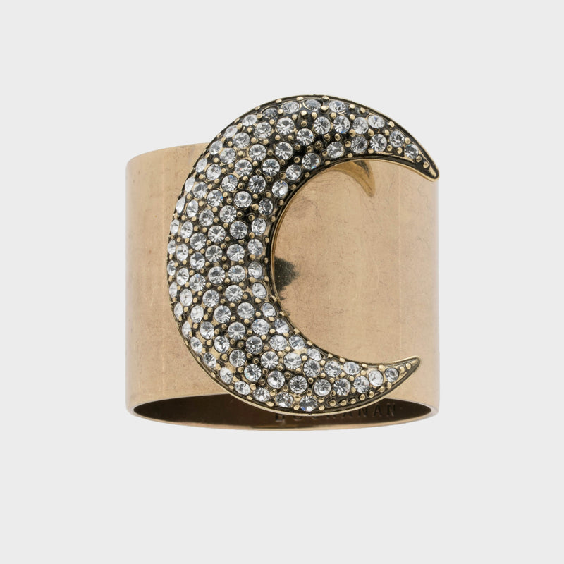 Moon napkin rings, set of two