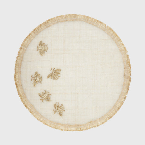 Chinoiserie placemat, green