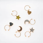 Celestial wine charms