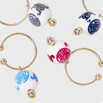 Chinoiserie wine charms