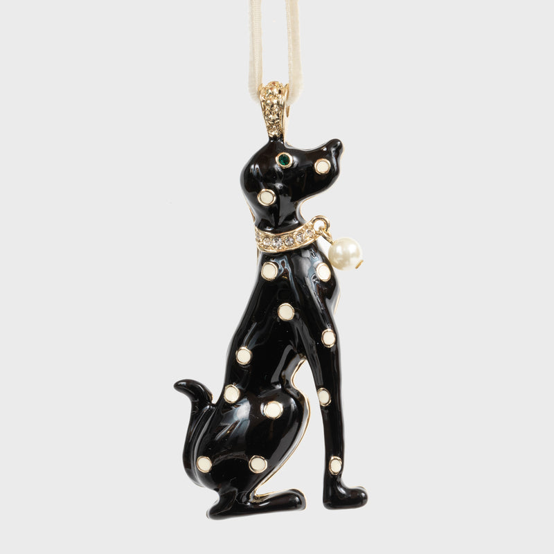 Dalmatian hanging ornament