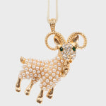Aries hanging ornament