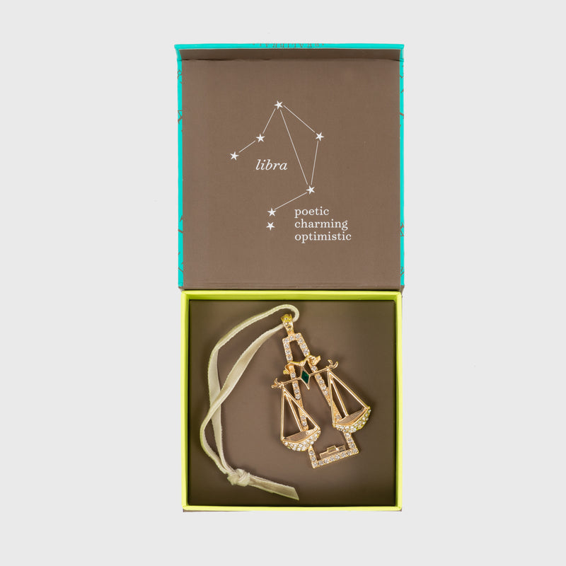Libra hanging ornament