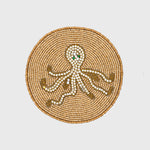 Octopus coaster, set of four