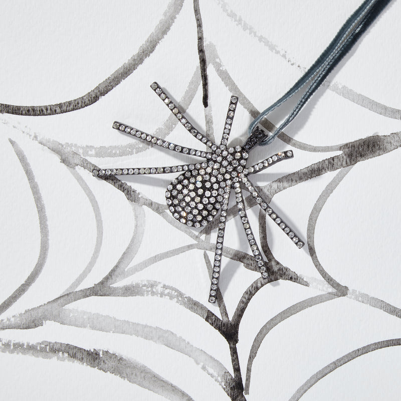 Spider hanging ornament