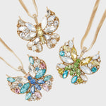 Butterfly hanging ornament set, pastel