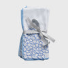 Hydrangea dinner napkins, blue, set of two