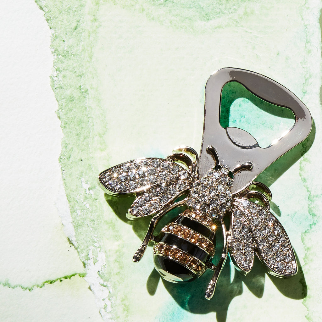 Stripey bee bottle opener