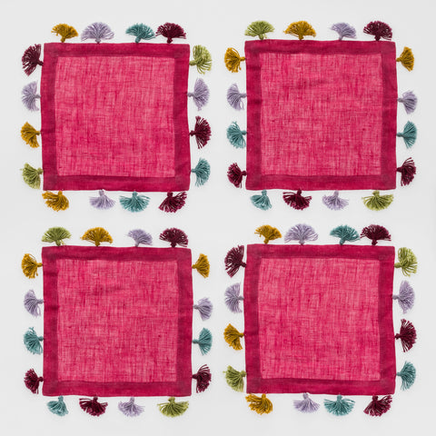 Peony dinner napkins, set of two