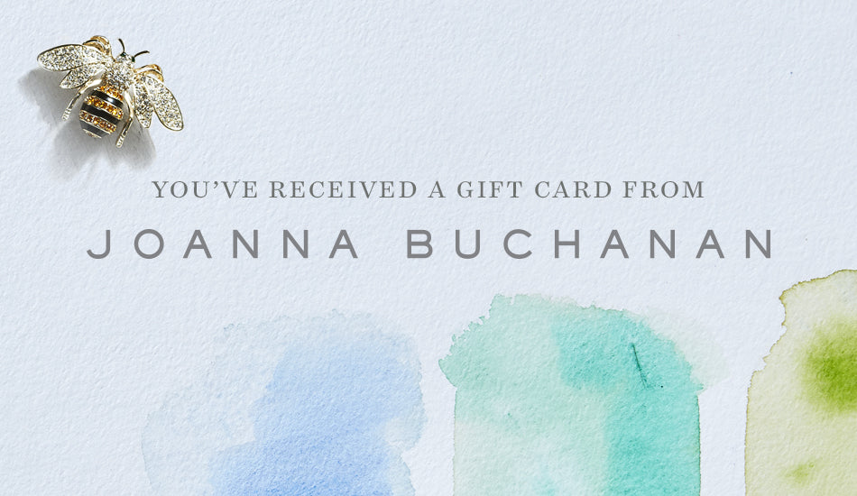 Joanna Buchanan Gift Card