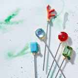 Bright gem cocktail picks