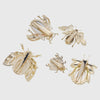 Jeweled bird clip set