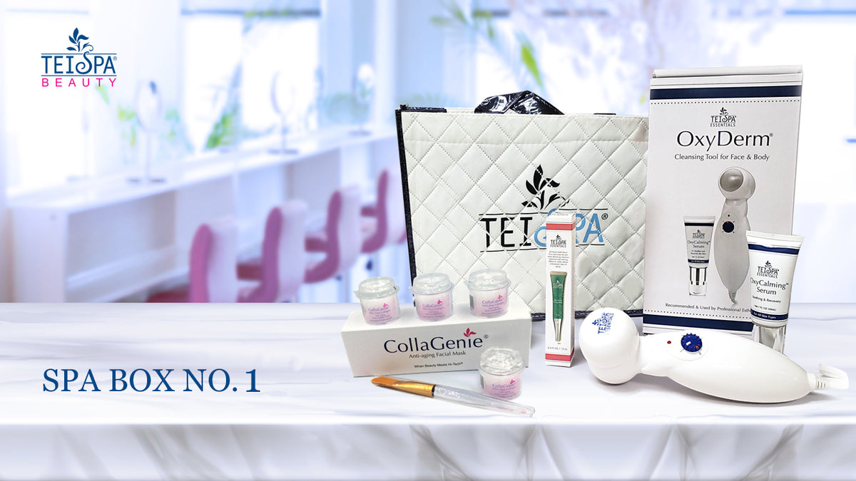 Introducing the TEI SPA BEAUTY SpaBox No 1 Package