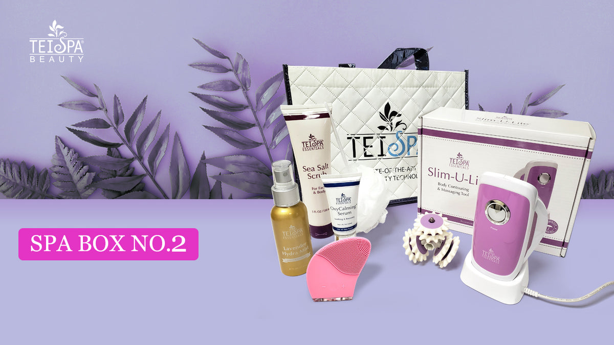 Introducing the TEI SPA BEAUTY SpaBox No 2 Package