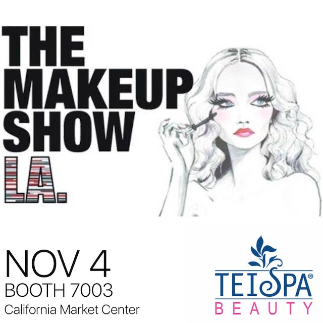 The Makeup Show Los Angeles - November 4th - California Market Center - Booth 7003
