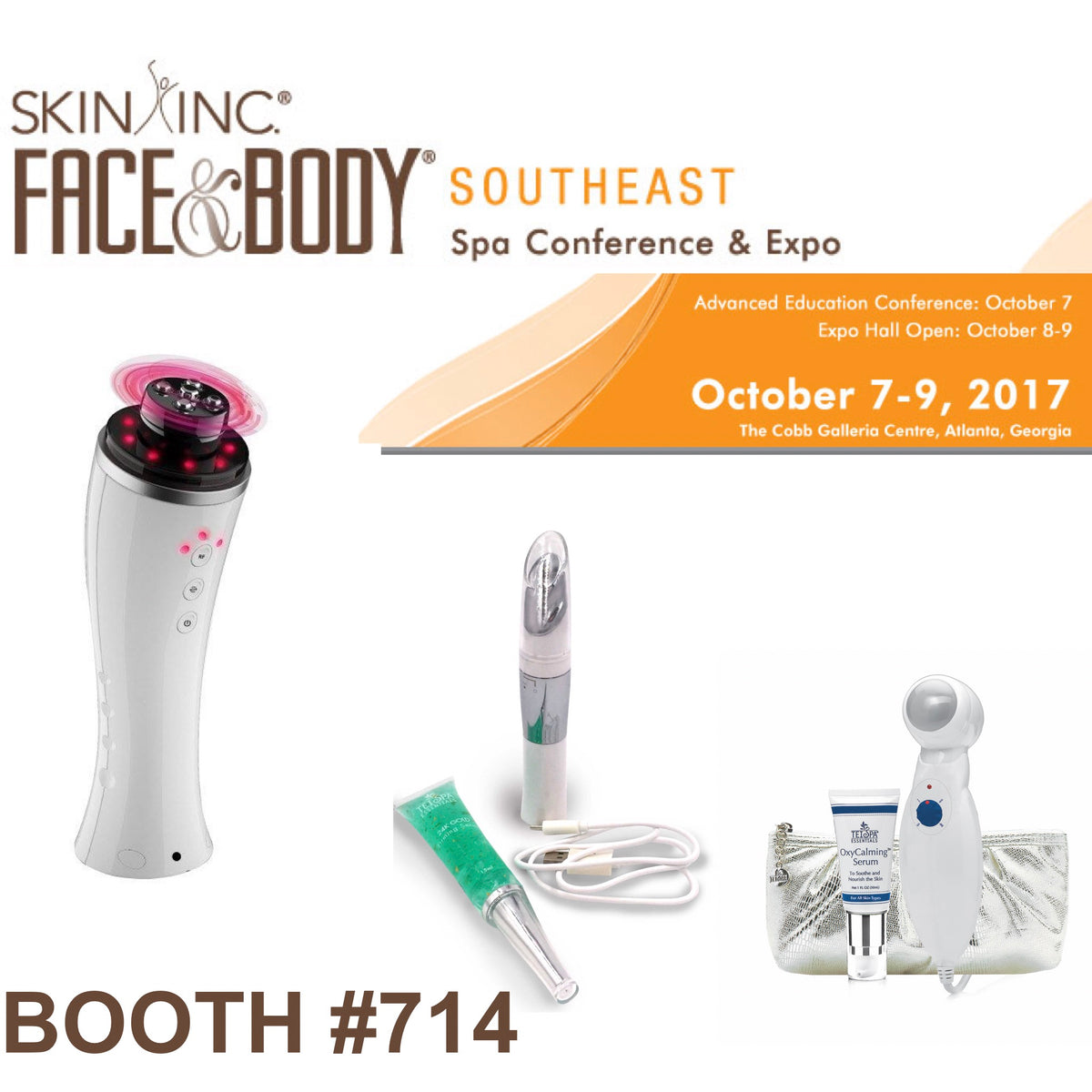 Hey Atlanta, Georgia! Register Early For The Face & Body Expo to Receive a Discount!