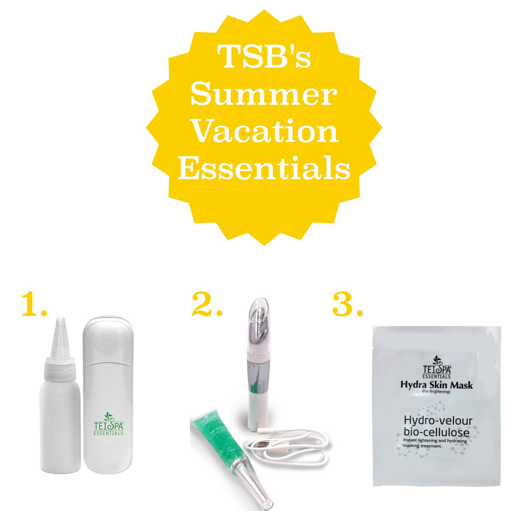 TEI Spa Beauty's 3 Summer Vacation Essentials - #SUMMERVACAY