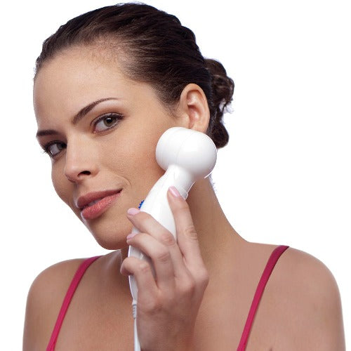 oxyderm high frequency treatment on face to rid of acne
