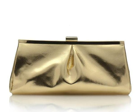 Gorgeous Gold Clutch
