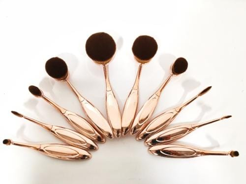 Micro Makeup Brushes - 10 piece set