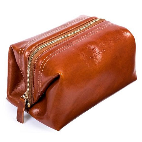 Lewis Toiletry Bag - Whiskey