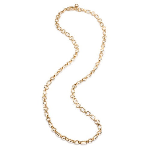 Oval Round Long Chain