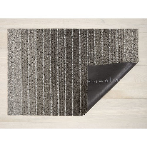 Doormat - Block Stripe Taupe