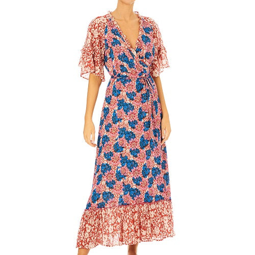 Regina Print Frill Dress (More Options)