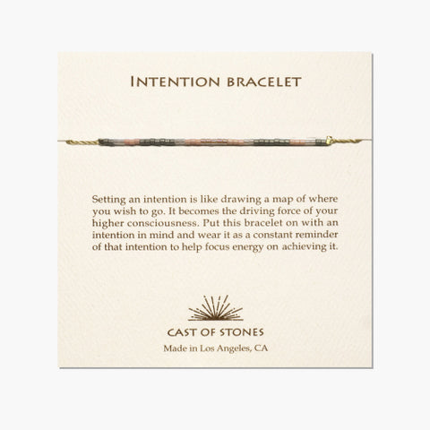 Intention Bracelet Rose Pink