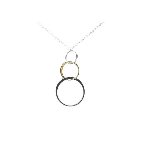 X Circle Necklace