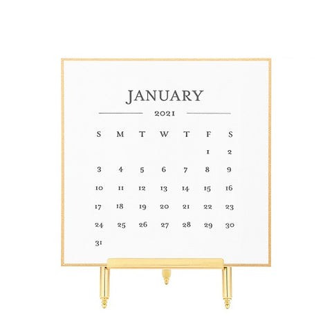 Sugar Paper 2021 Classic Calendar with Easel