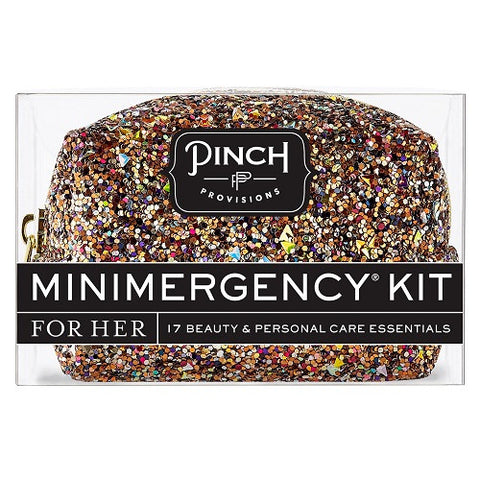 Mini Emergency Glitter Bomb Bronze Multi