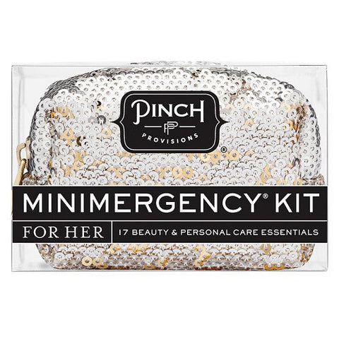 Mini Emergency Sequin Silver & Gold