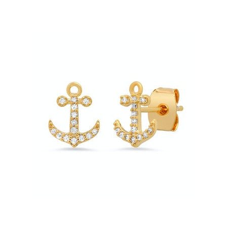 Pave Anchor Studs