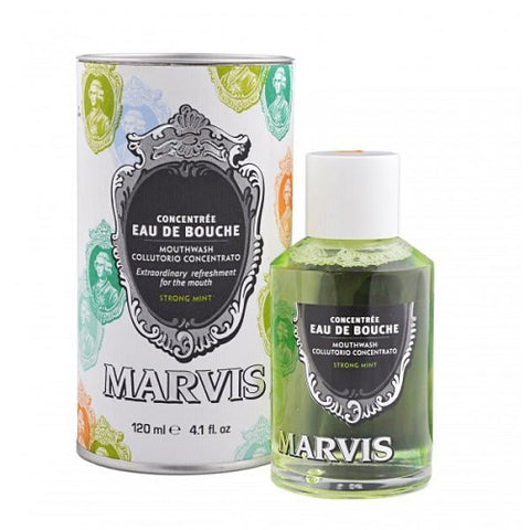 Marvis Strong Mint Mouthwash Concentrate
