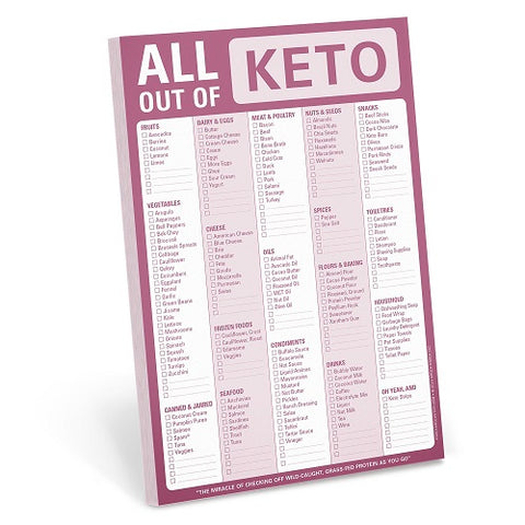 All Out Of - KETO