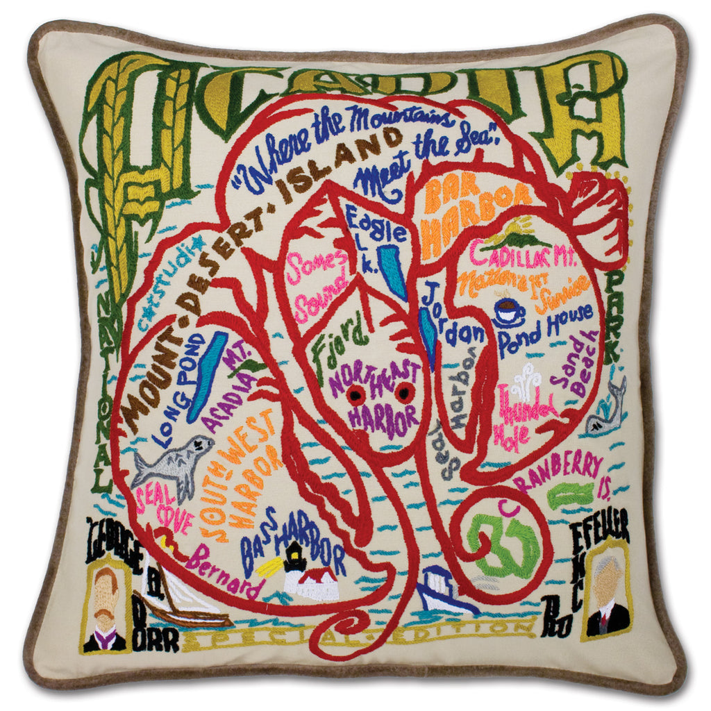Catstudio Geography Pillows - National Parks Collection
