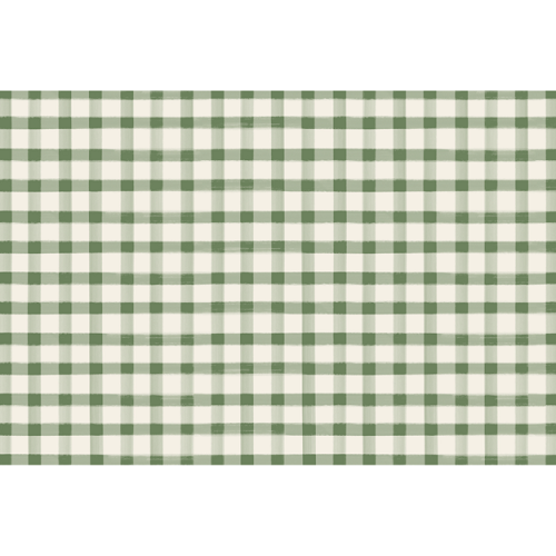 Painted Check Placemat