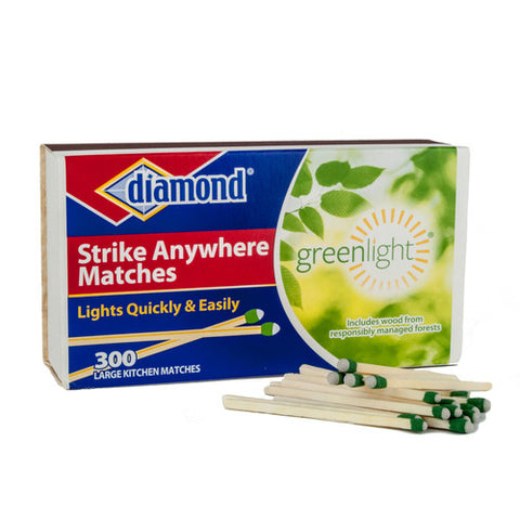 Diamond Strike Anywhere Matches, 300 Matches