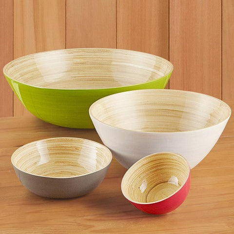 Bamboo Ice Cream Bowl (More Options)