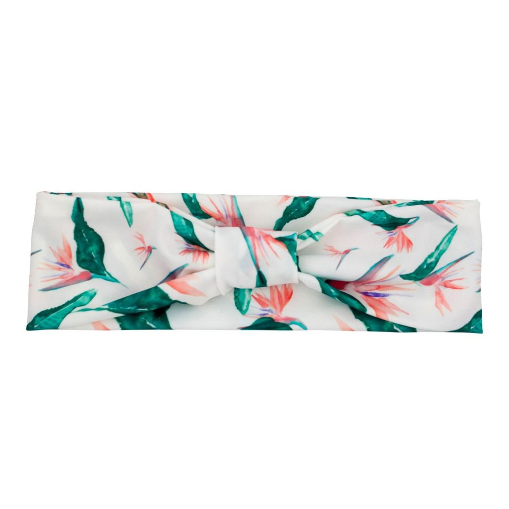 SERAPHINE headband in Hawaiian Bird of Paradise
