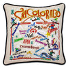 Catstudio Geography Pillow - Ski Collection