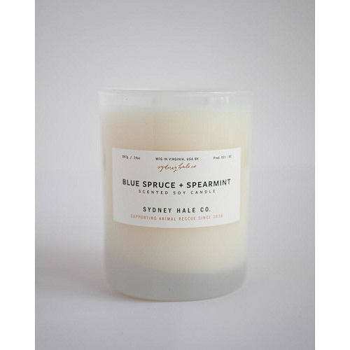 Blue Spruce & Spearmint Candle