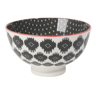 Stamped Bowl - Ikat