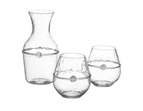 Carafe + 2 Stemless Red Wine Gift Set